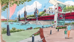 "Competition Seeks Architects to Design Massive ""Bridge Park"" in D.C."