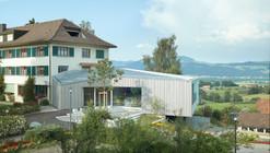 Alpenblick Restaurant / Büning-Pfaue Kartmann Architekten