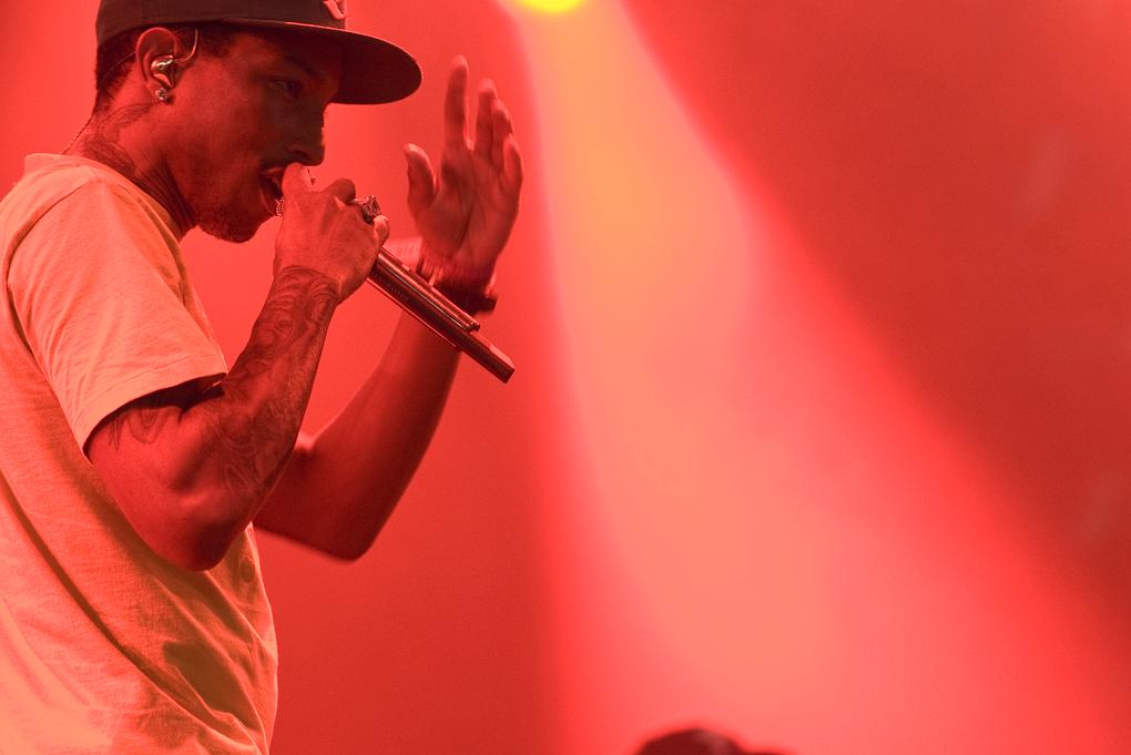Pharrell Williams. Image © Flickr CC User Merlijn Hoek