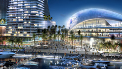 Arquitectonica Proposes Beckham MLS Stadium for Port of Miami