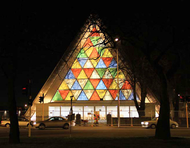 Premio Pritzker 2014: Catedral de Cartón de Shigeru Ban en Nueva Zelanda, © Jocelyn Kinghorn