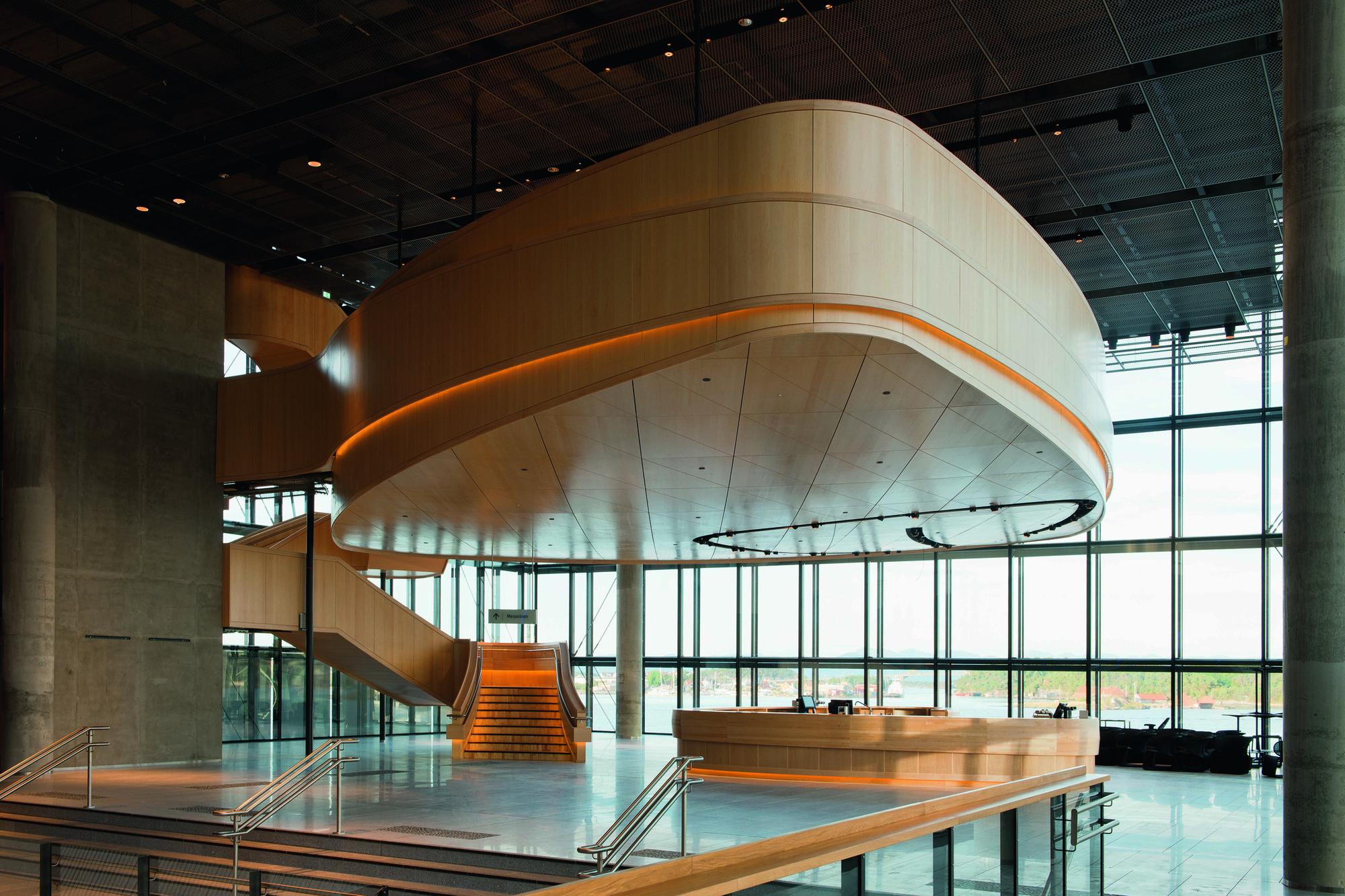 Gallery of stavanger concert hall ratio arkitekter as 2 for Mezzanine architecture
