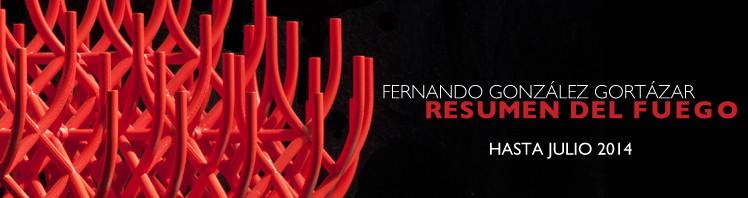 Fernando González Gortázar: Resumen del fuego / Exposición en el Museo de Arte Moderno