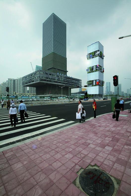 Bürohochhaus, Shenzhen, China, 2008-2016. Image © Hans Hollein & Partner ZT GesmbH