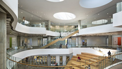 Henry W Bloch Executive Hall at University / BNIM  + Moore Ruble Yudell
