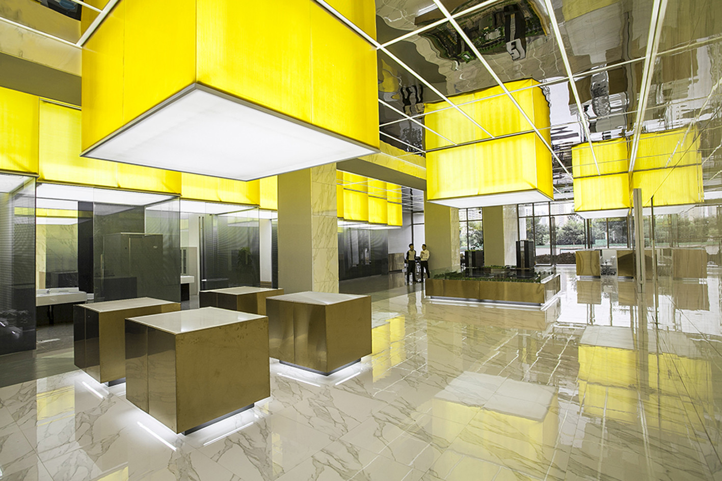Architecture Office gallery of juxing tower showroom / people's architecture office - 2