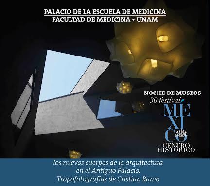 Los nuevos cuerpos de la arquitectura en el antiguo Palacio: Tropofotografías de Cristina Ramo