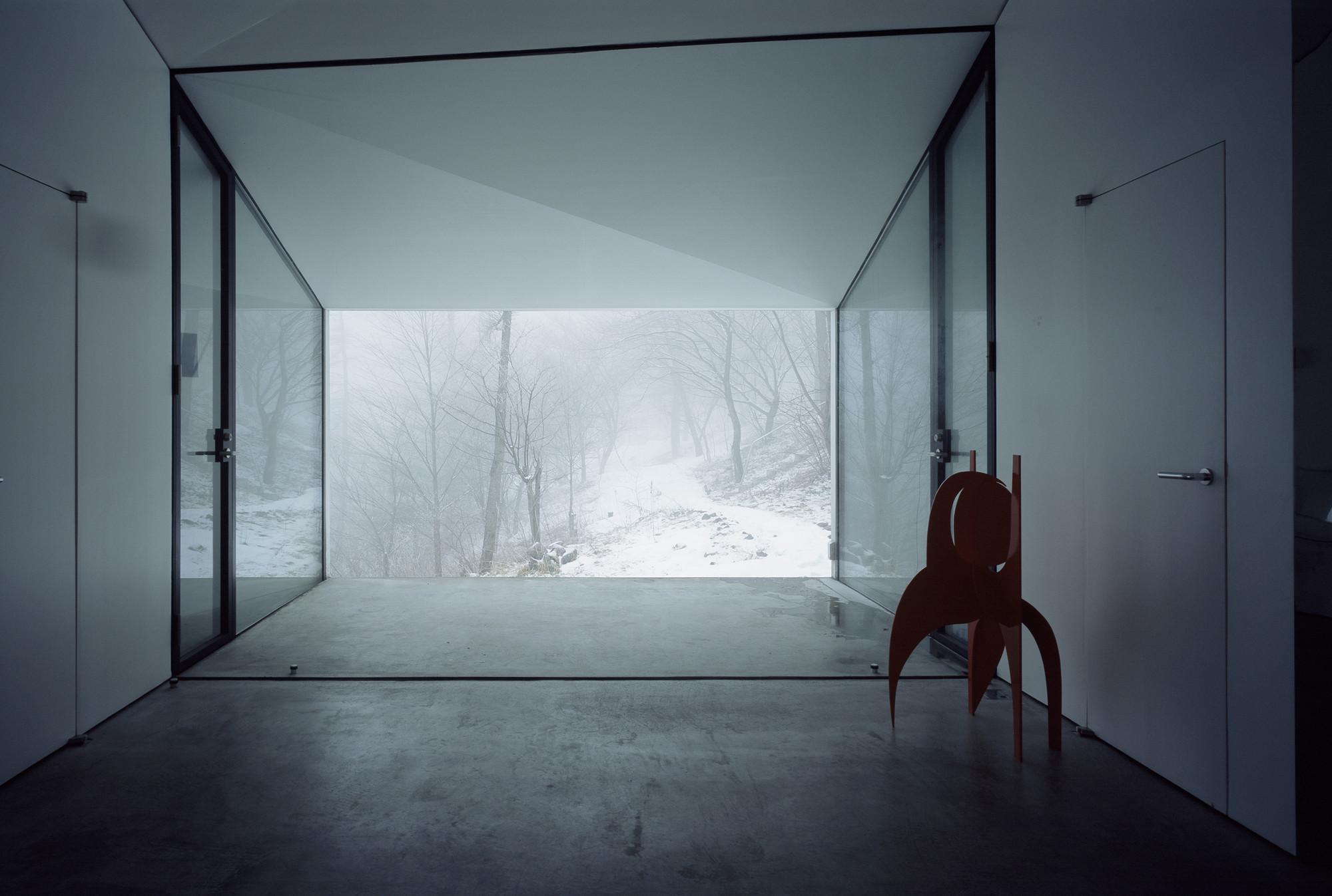 Gallery of villa gallery in karuizawa makoto yamaguchi for Karuizawa architecture