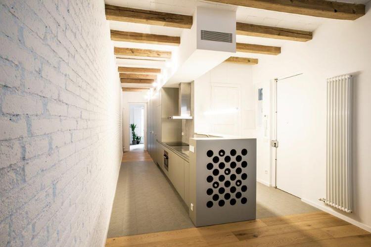 Reforma integral de piso pasante del ensanche de Barcelona / M2arquitectura, © Gerard García Vilarrasa