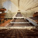 Crystal Cathedral, USA. Architect: Philip Johnson. Image Courtesy of American Seating