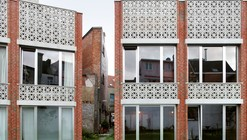 Mixed use infill 3 houses and an office / Collectief Noord