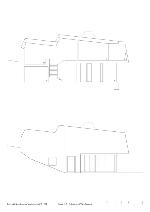 Section and Elevation
