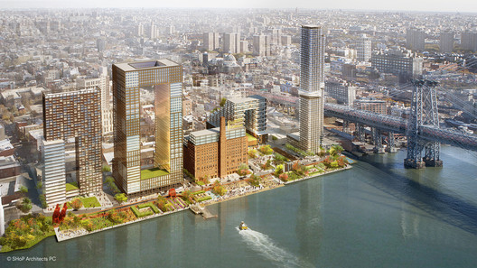 Domino Sugar Factory Master Plan Development / SHoP Architects