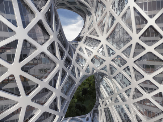 Facade Detail. Image © Zaha Hadid Architects; 2014 Melco Crown Entertainment Limited