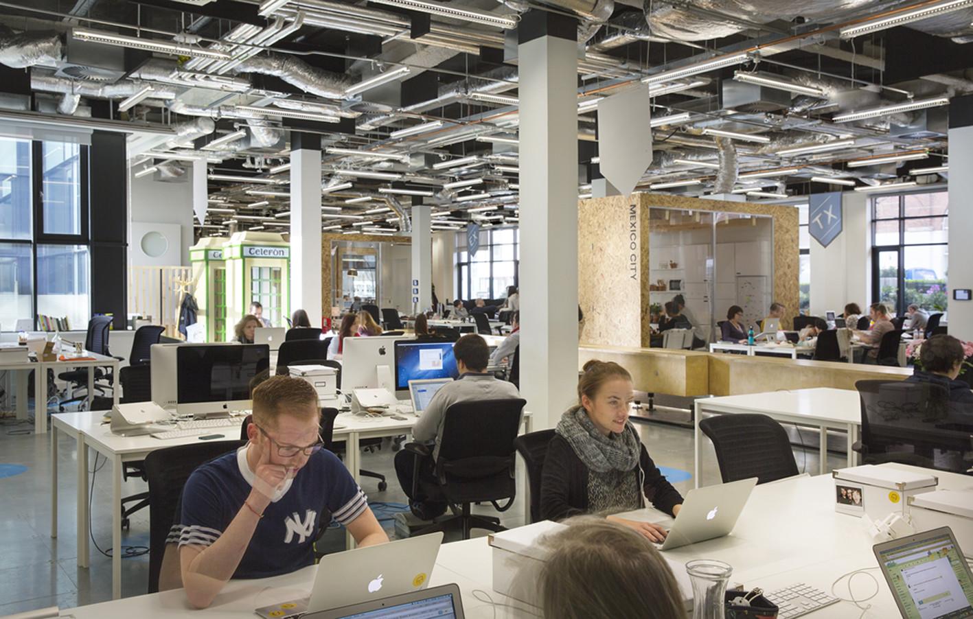 Airbnb's European Operations Hub in Dublin / Heneghan Peng ...