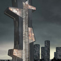 What If Dubai's Next Tower Were an Architecture School?  Courtesy of Evan Shieh, Ali Chen