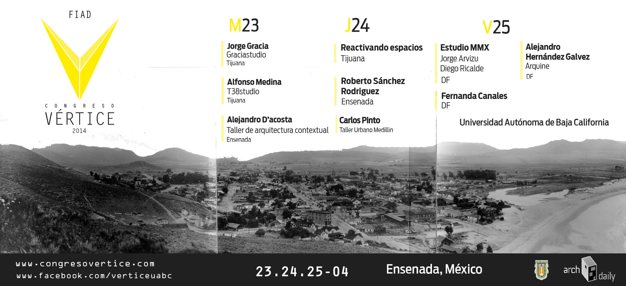 Congreso Vertice 2014 / Ensenada, Baja California