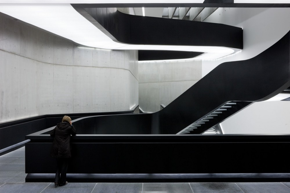 """""""Architects are in charge of the FORM of the built environment, not its content. We need to grasp this and run with this despite all the (ultimately conservative) moralizing political correctness that is trying to paralyse us with bad conscience and arrest our explorations..."""" - Patrik Schumacher. Above, the MAXXI Museum by Zaha Hadid Architects. Image © Iwan Baan"""