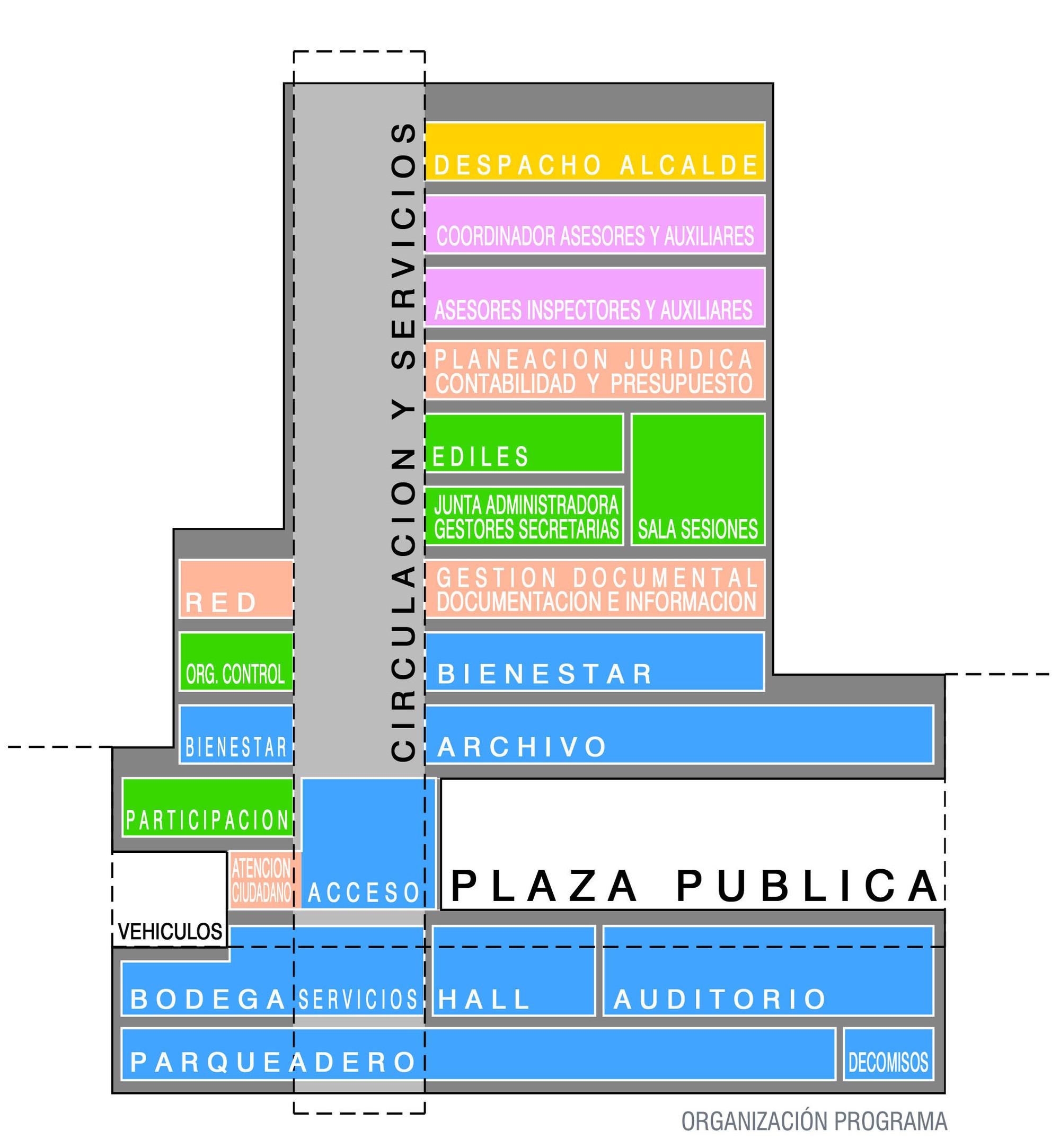 Programa. Image Courtesy of Equipo Segundo Lugar