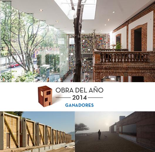 Ganadores Premio Obra del Año 2014