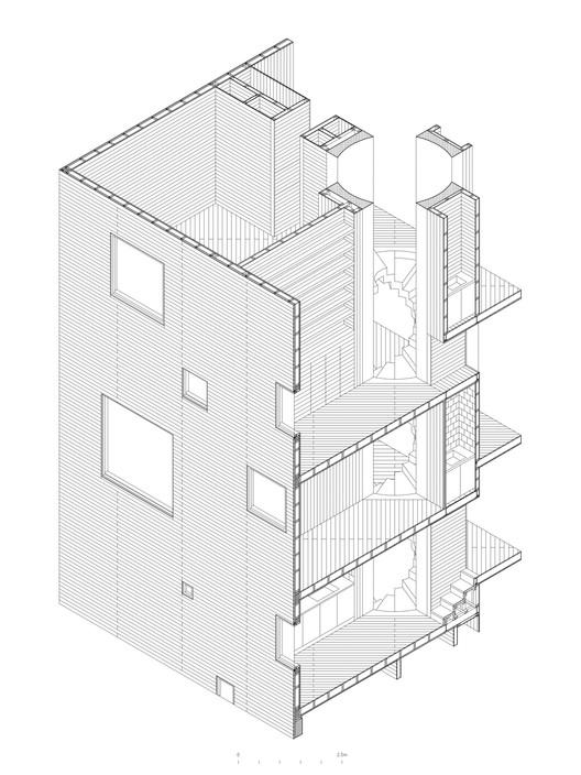 Axonometrica para Construcción