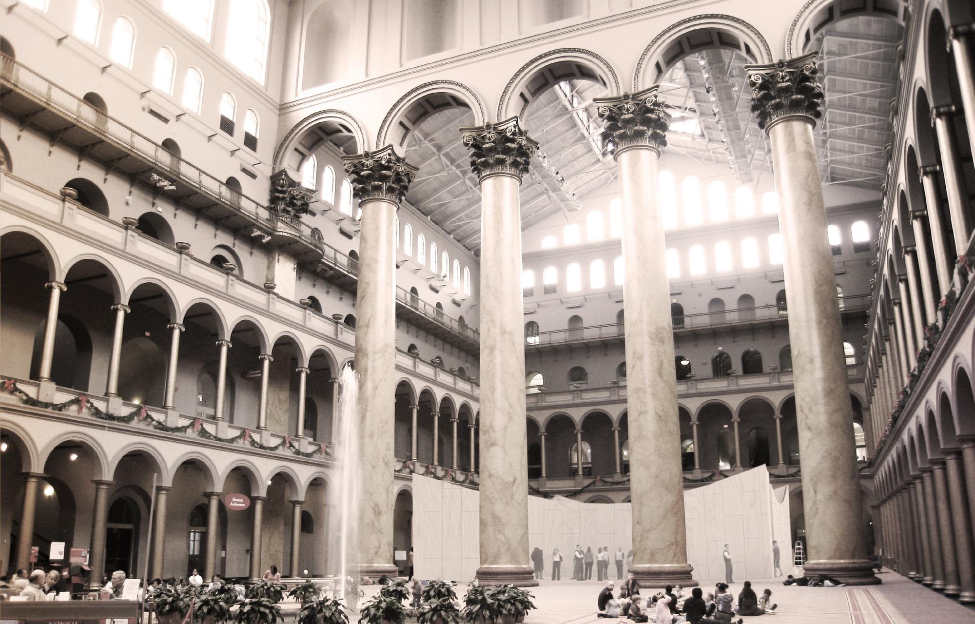 © BIG. Imagen Cortesía de National Building Museum