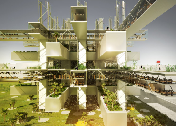 Terrace View. Image Courtesy of SANE architecture