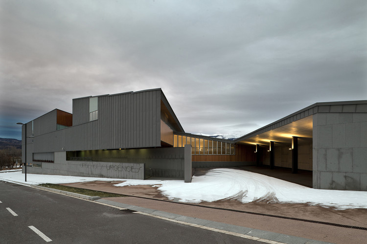 Cerdanya Hospital / Brullet Pineda Arquitectes, Courtesy of Pinearq