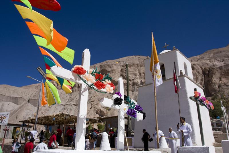 Iglesia San Pedro de Esquiña. Image Courtesy of Fundación Altiplano