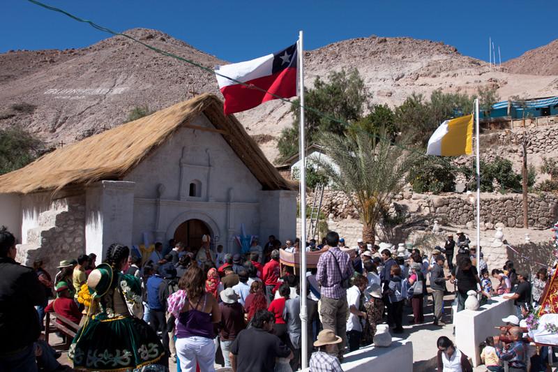 """Fundación Altiplano tras reciente terremoto en Chile: """"Estamos tranquilos, pues se trata de daños menores"""", Iglesia de Guañacagua. Image Courtesy of Fundación Altiplano"""
