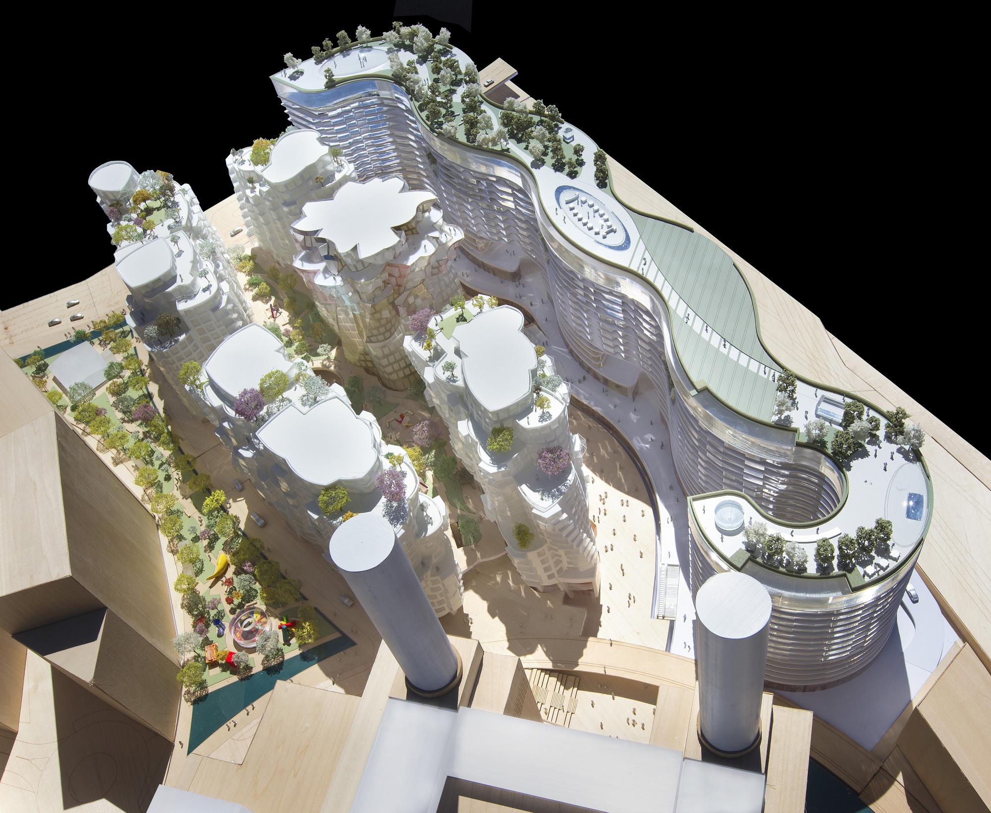 """Modelo de """"Línea de Horizonte"""" y """"Lugar de expectativas"""". Imágen cortesía de Central energética Battersea"""