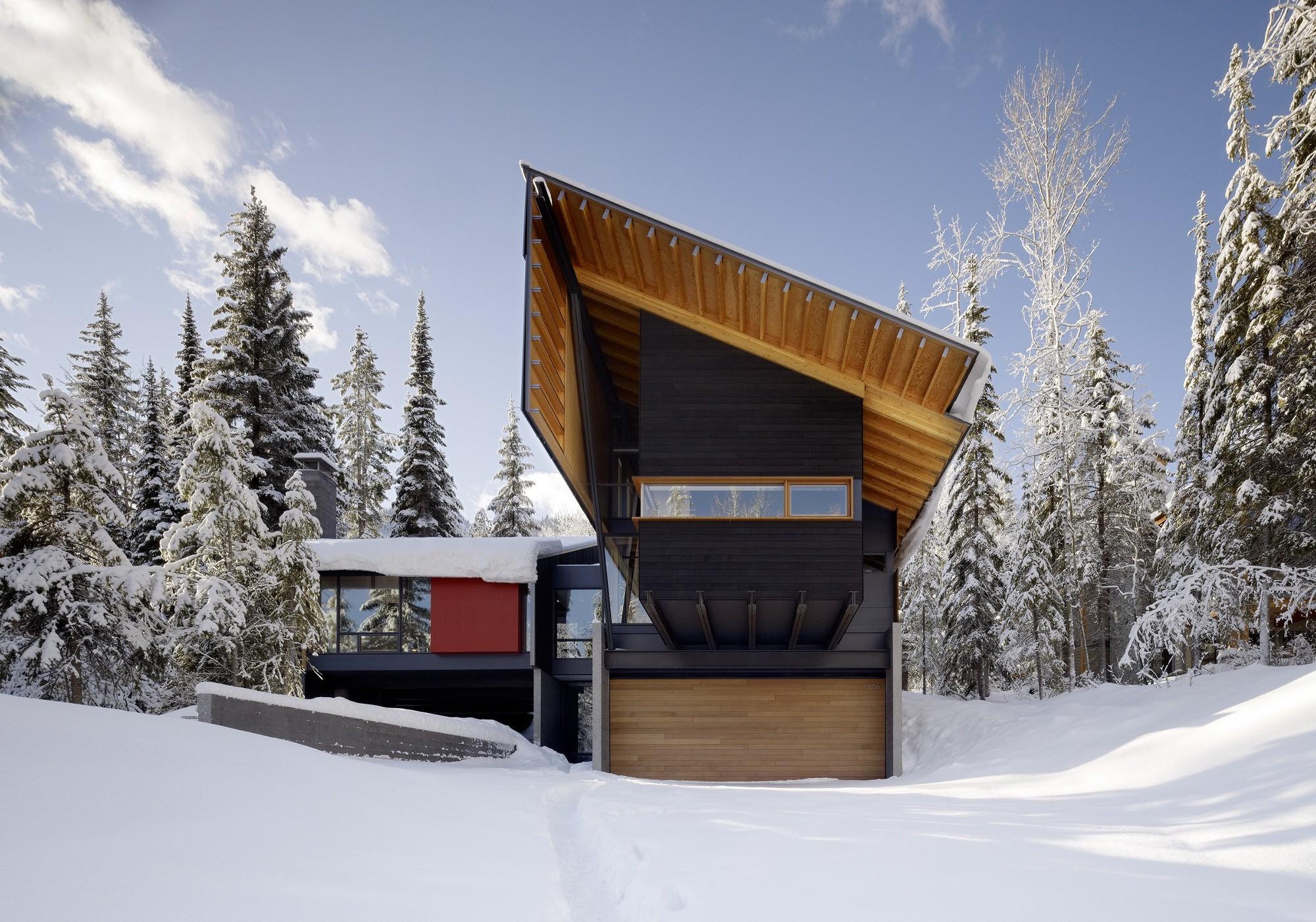 Kicking Horse Residence; British Columbia /Bohlin Cywinski Jackson