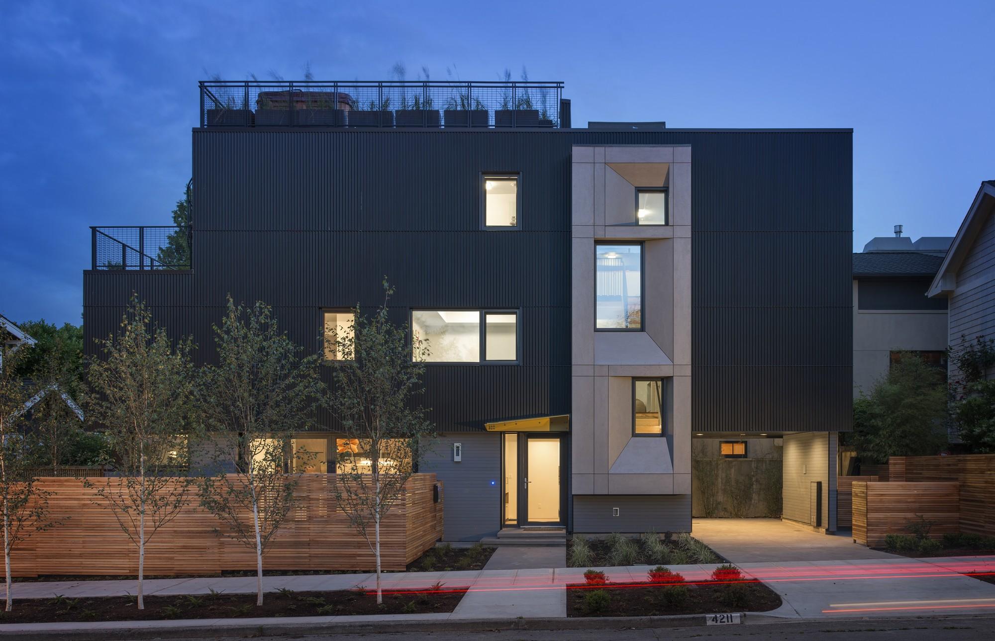 Park Passive; Seattle /NK Architects © Aaron Leitz
