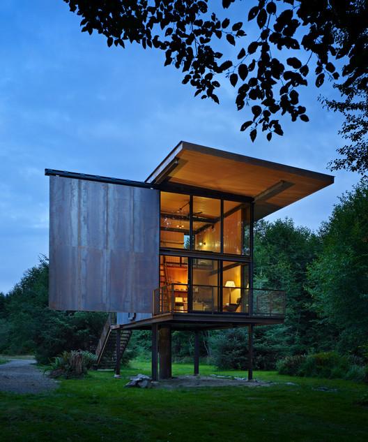 Sol Duc Cabin; Seattle /Olson Kundig Architects