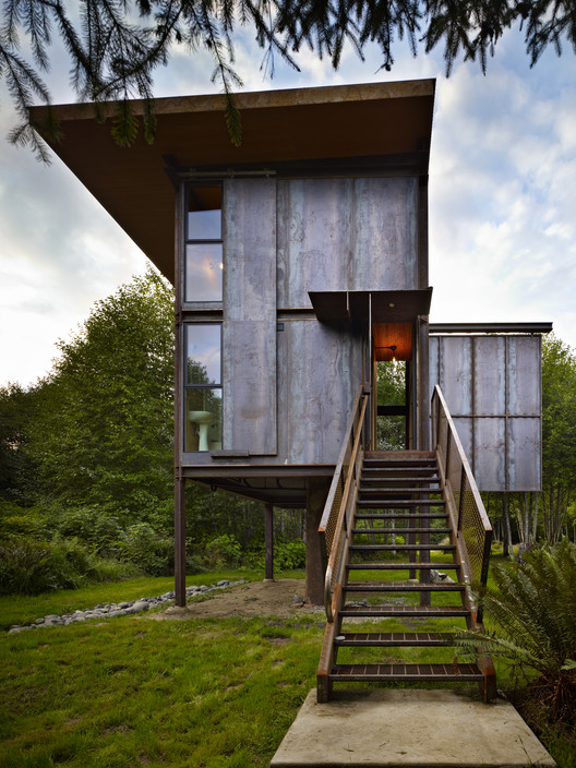 AIA Names 10 Most Impressive Houses of 2014, Sol Duc Cabin; Seattle / Olson Kundig Architects