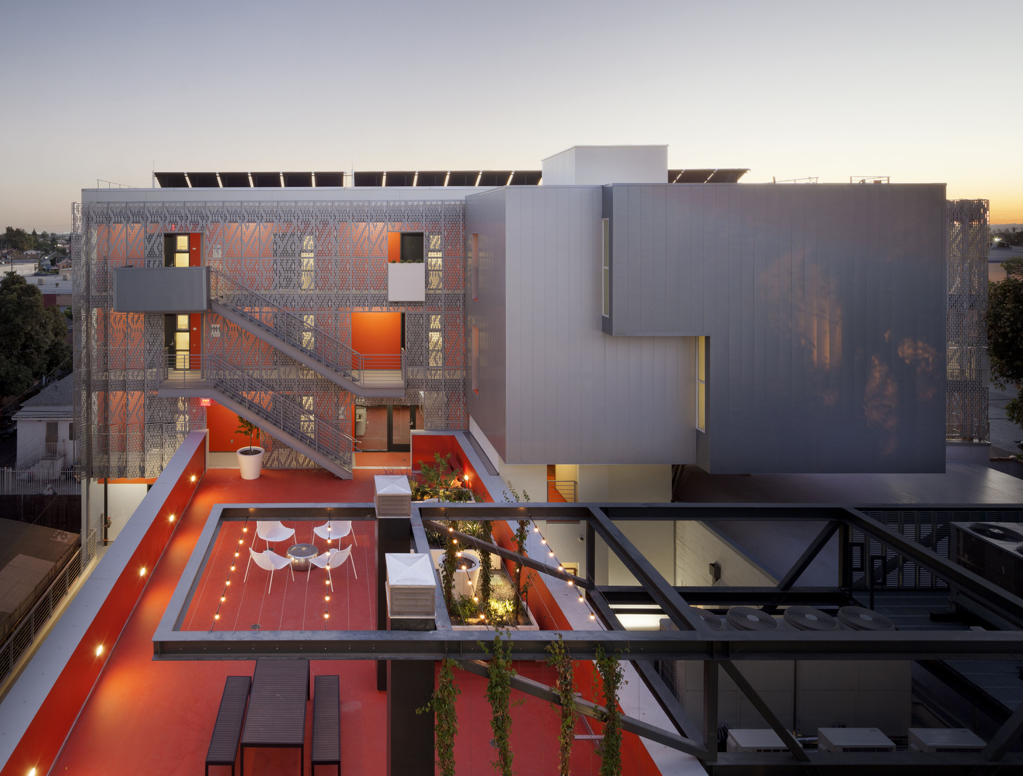 28th Street Apartments; Los Angeles / Koning Eizenberg Architecture, Inc.