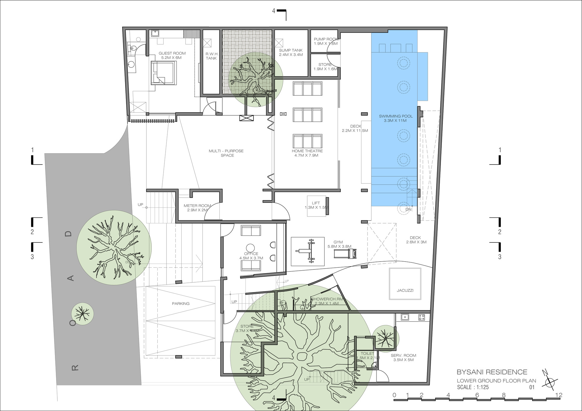 Gallery of wilson garden house architecture paradigm 14 for Home architecture floor plans