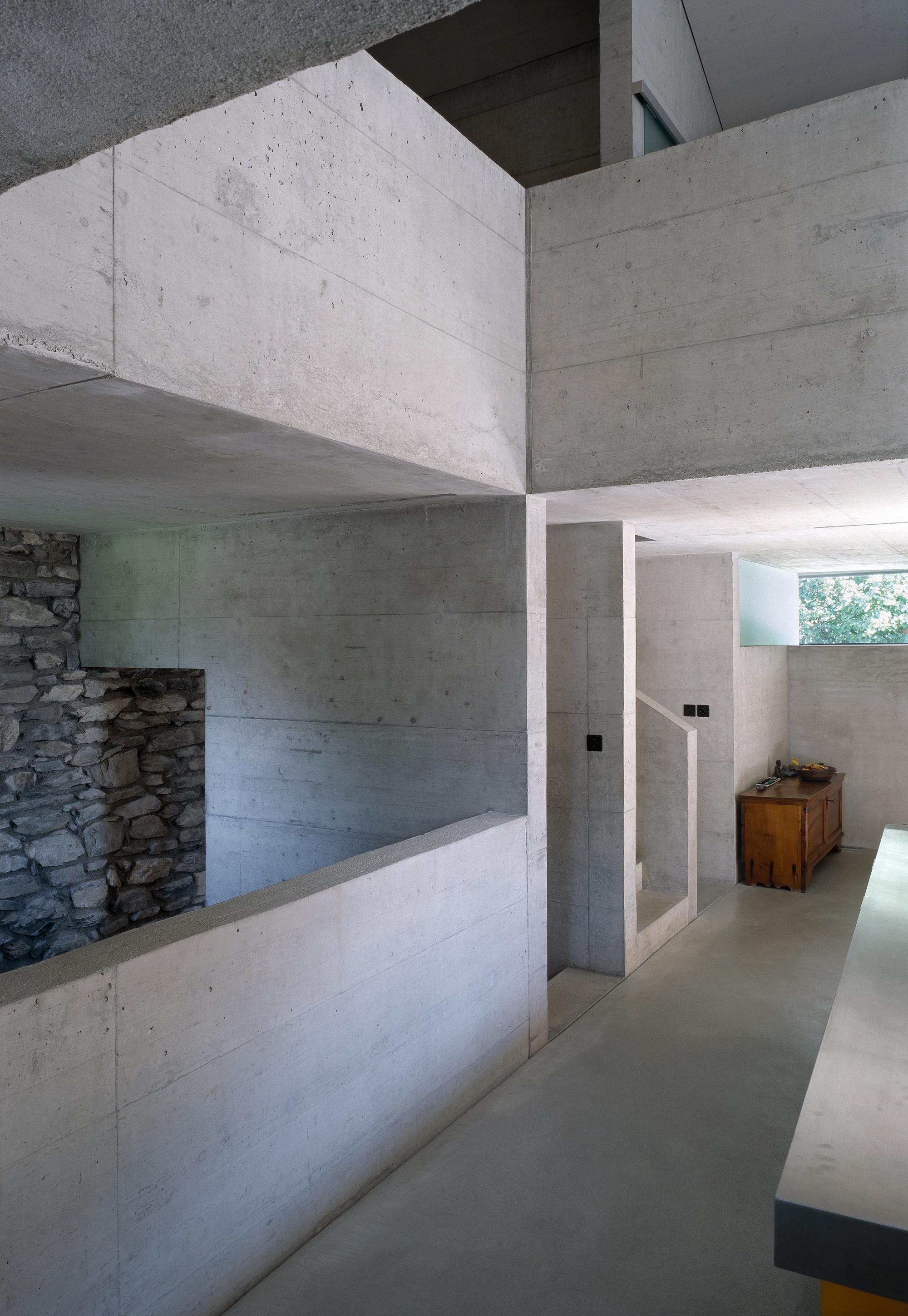 Gallery of roduit house transformation savioz fabrizzi architectes 5 - Best architectes ...