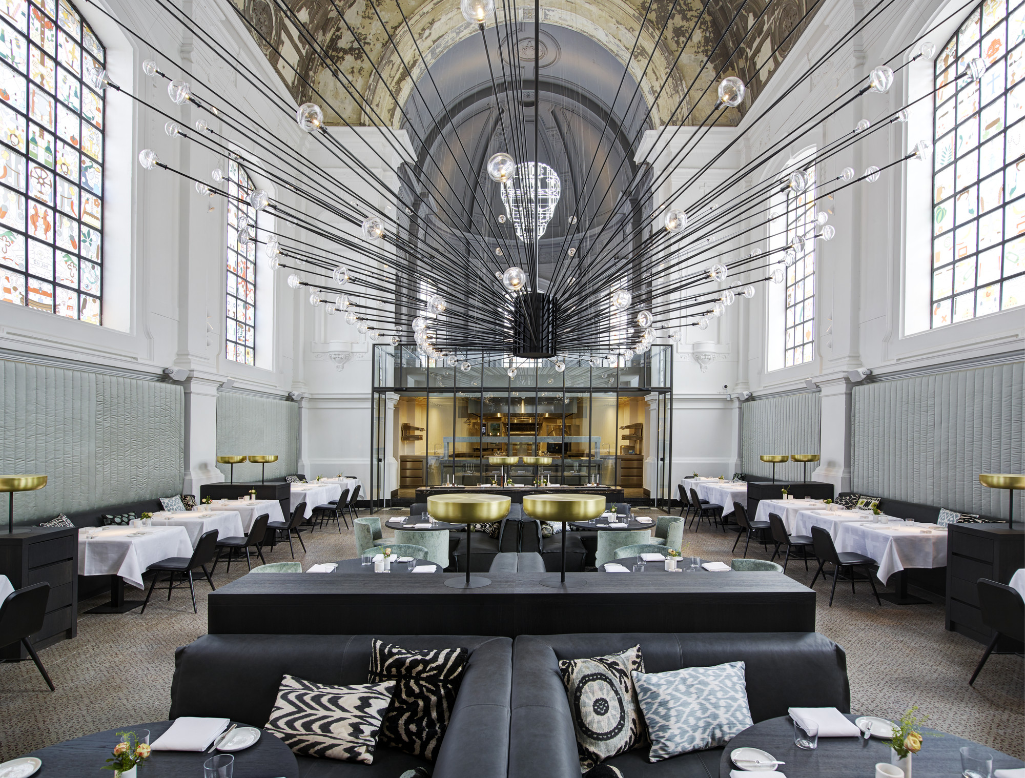 Restaurant 'The Jane' Antwerp / Piet Boon, © Richard Powers