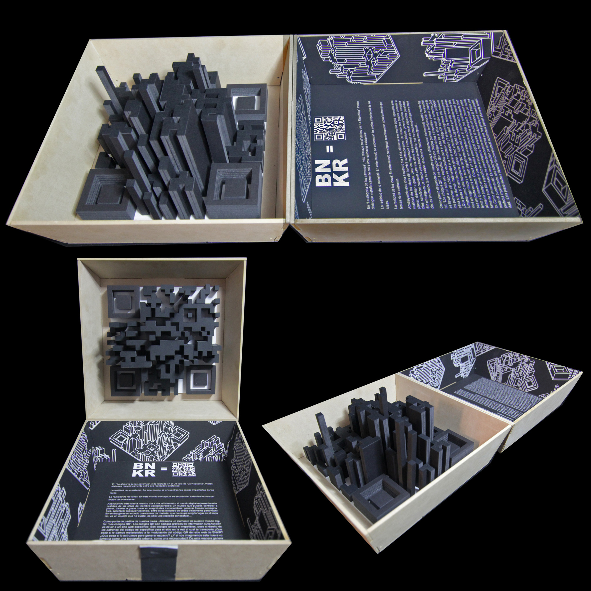 Pieza-Caja de Bunker Arquitectura