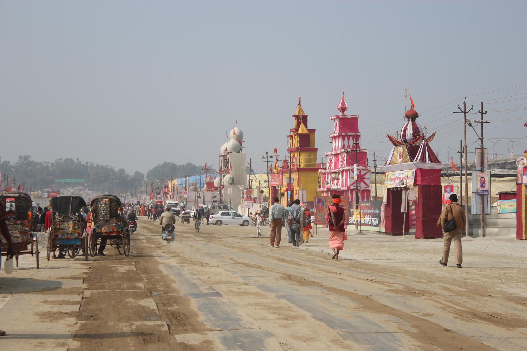 Kumbh Mela : Aprendiendo de Ciudades Temporales, © Felipe Vera