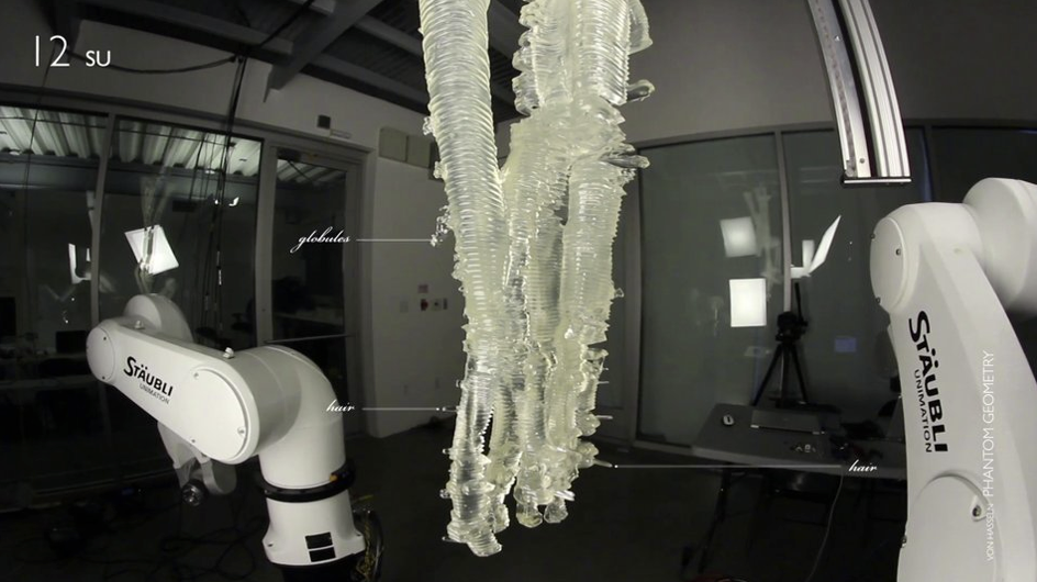"""Phantom Geometry"" an innovation in 3D printing by students from SCI-Arc. Image"