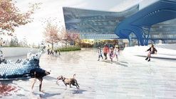 Brooks + Scarpa Designs Park-And-Ride Plaza for Seattle Rail Station