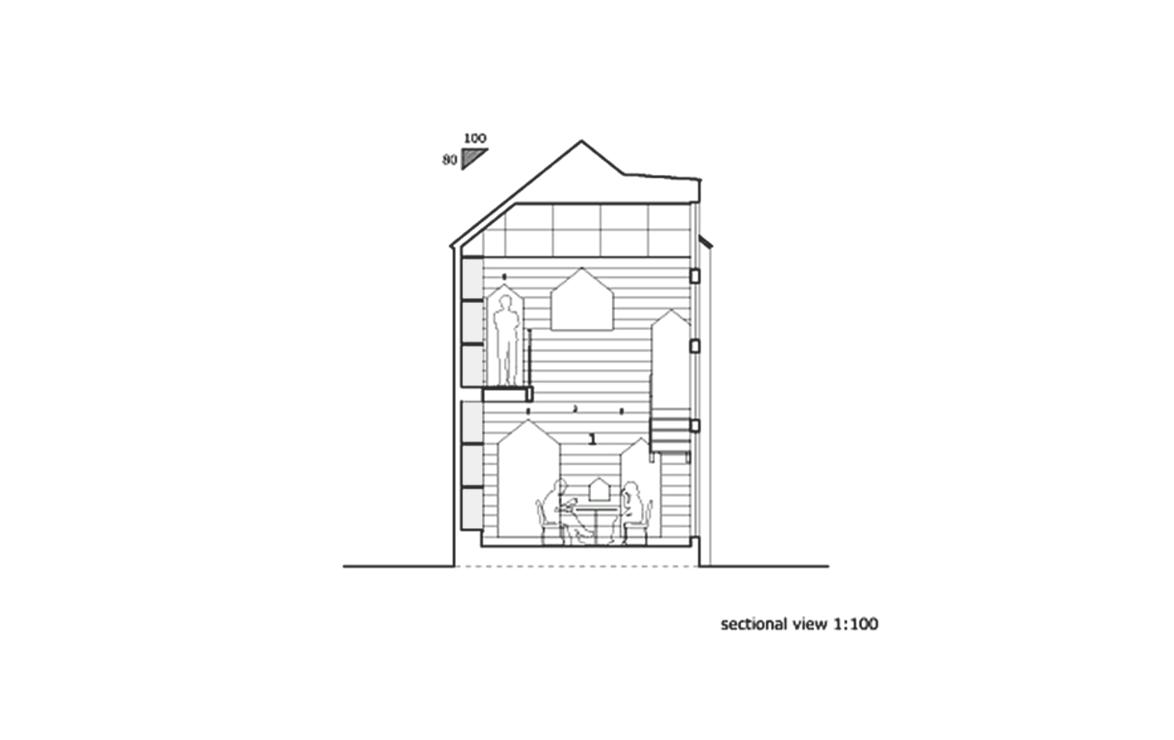 Casa Hazukashi / ALTS Design Office