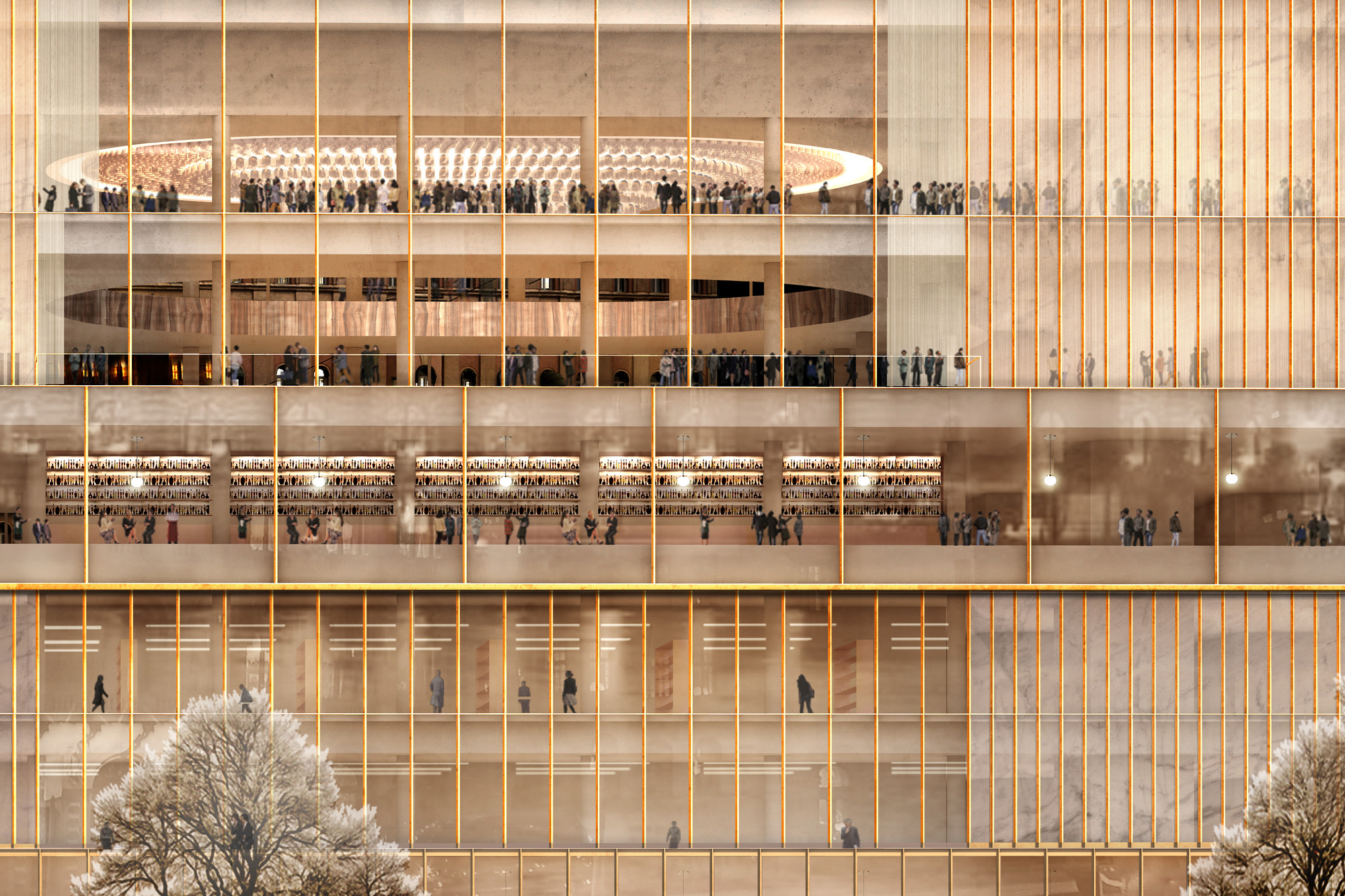 In detail chipperfield s nobel centre for stockholm for Chipperfield arquitecto