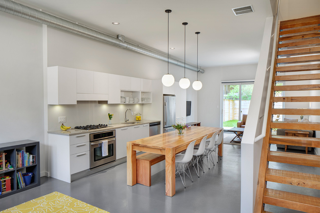Gallery of flexhouse interface studio architects for Kitchen ideas for row homes