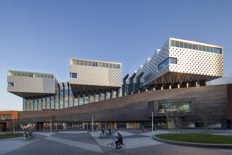 Centro cultural Eemhuis / Neutelings Riedijk Architects, Cortesía de Scagliolabrakke, Neutelings Riedijk Architecten