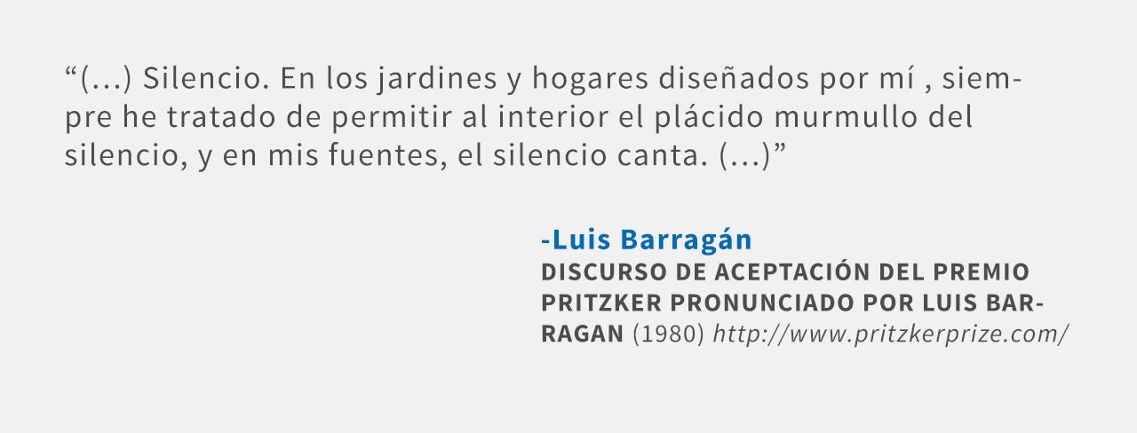 Frases: Luis Barragán