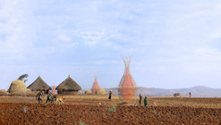 Proyecto WARKA: Torres de bambú que recogen agua potable del aire