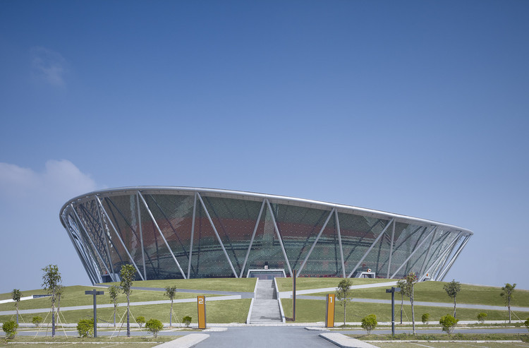 Estadio de Baloncesto en Dongguan / gmp architekten, © Christian Gahl